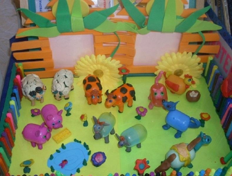 Поделки из бросового материала в детский сад
